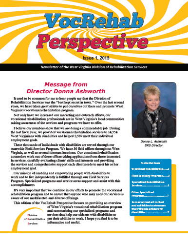 VocRehab Perspective, 2015 Issue 1